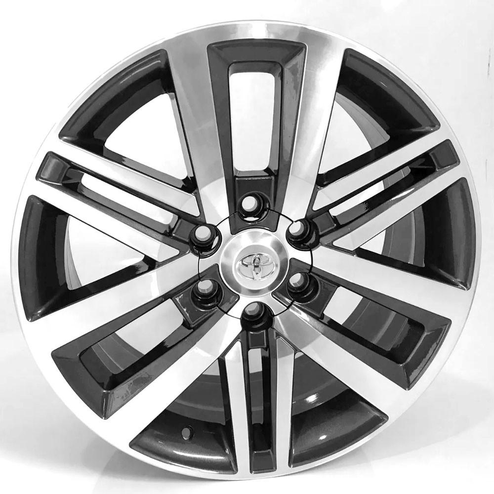 Jogo de Rodas Toyota Hilux Sw4 Aro 17 6x139 R72 GD