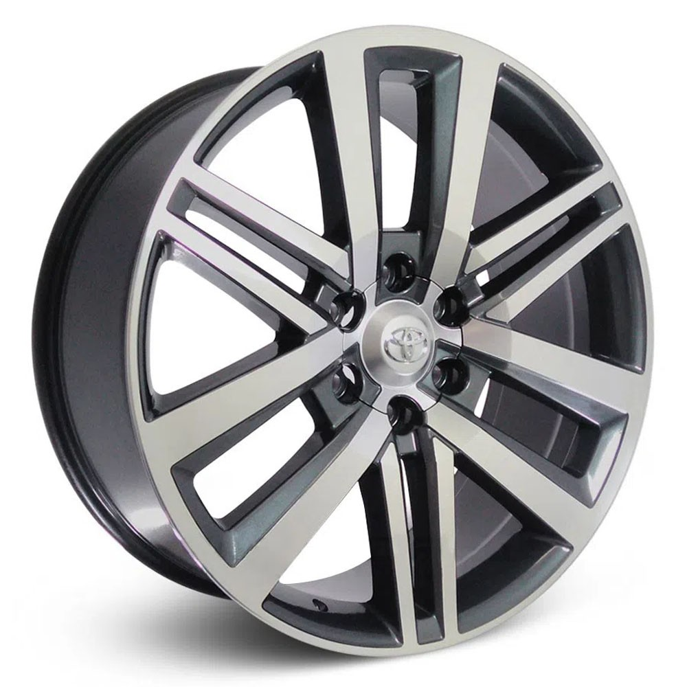 Jogo de Rodas Toyota Hilux Sw4 Aro 22 6x139 R72 GD