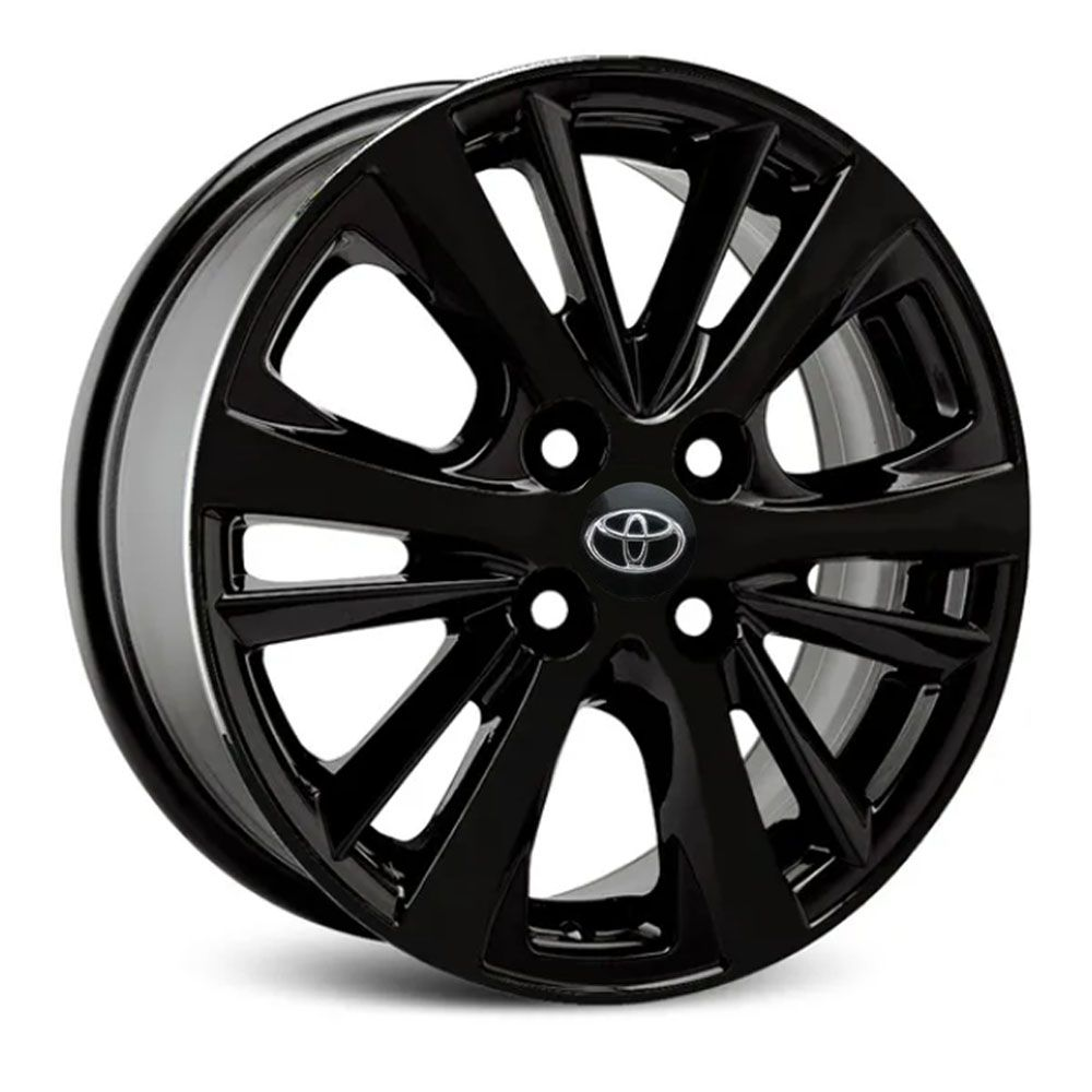 Jogo de Rodas Toyota Yaris Aro 15 Black S17 BP