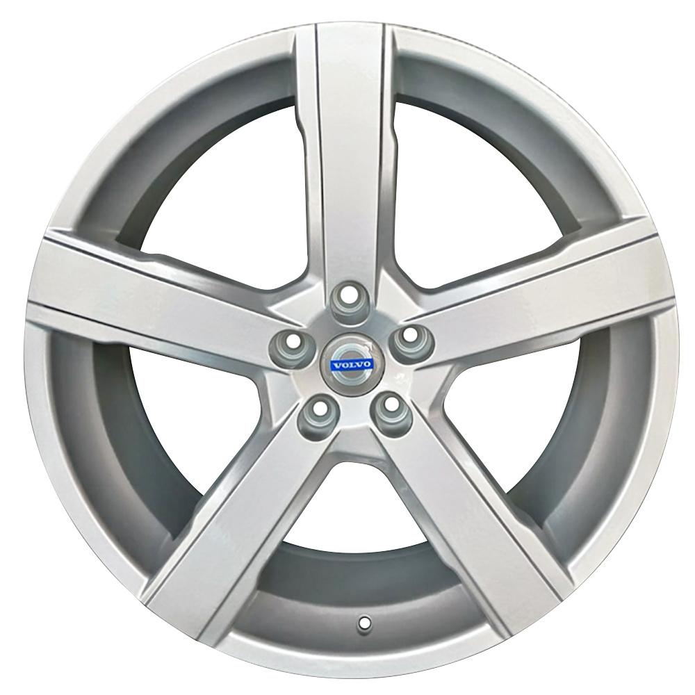 Jogo De Rodas Volvo V6 Aro 20x7,5 5x112 BRW 1600 Britania Prata