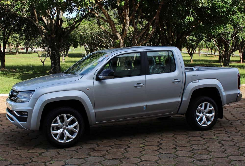 Jogo De Rodas VW Amarok 2018 Aro 18 5x120 Tala 7 S07 SS
