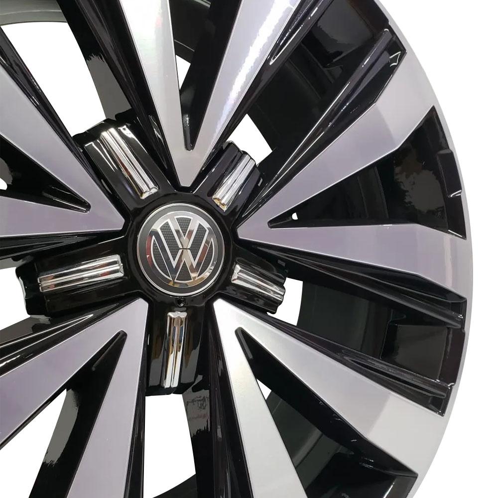 Jogo De Rodas VW Amarok 2018 Aro 22 5x120 Tala 9 R87 BD