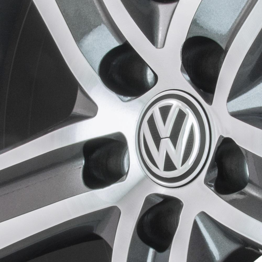 Jogo De Rodas VW Fox 2015 Aro 15 5x100 Tala 6 R65 GD