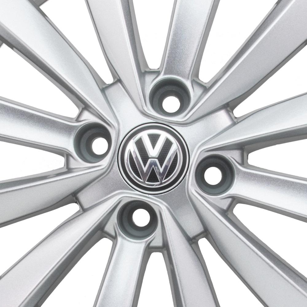 Jogo De Rodas VW Gol 2015 Aro 15 4x100 Tala 6 R63 SS