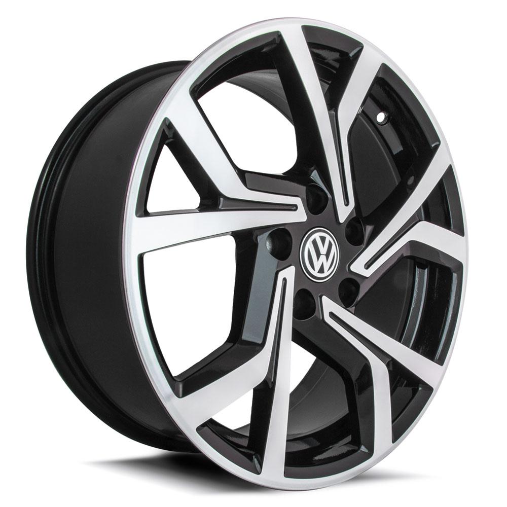 Jogo De Rodas VW Golf GTI Aro 17 5x100 Tala 7 R94 BD