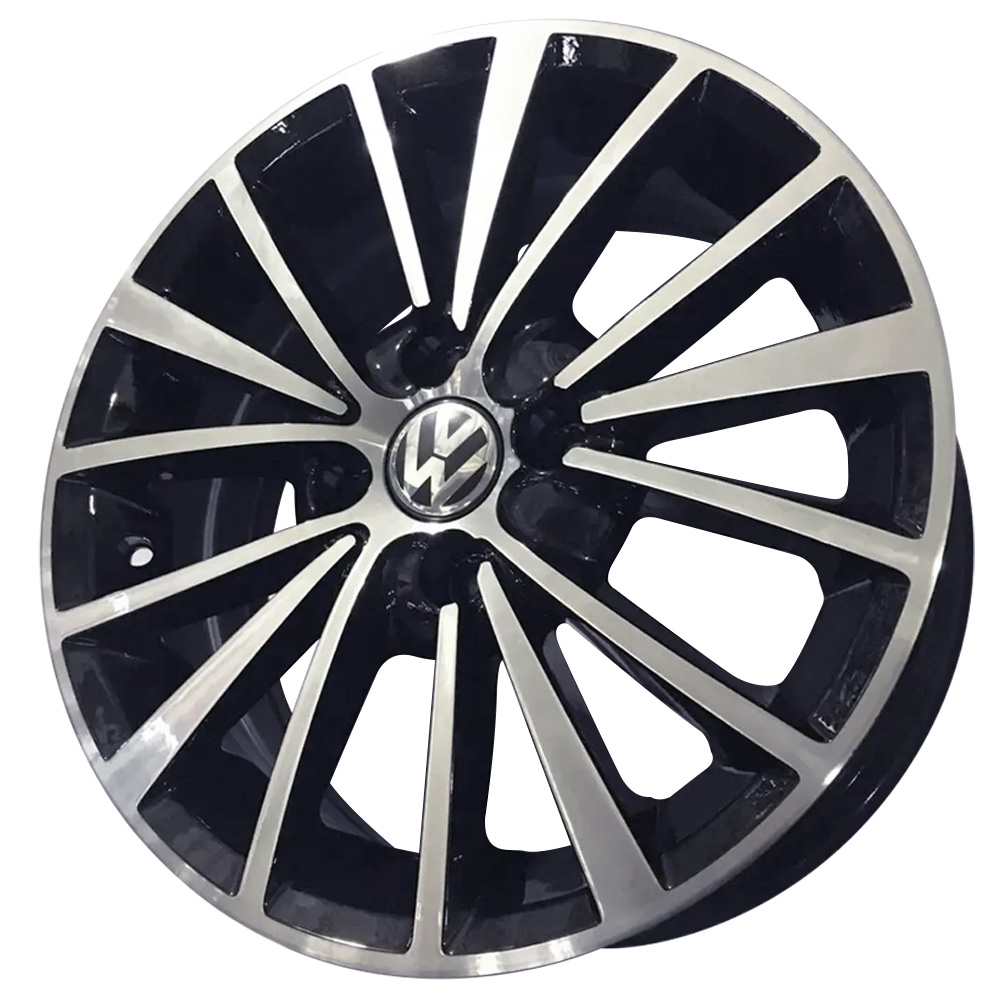 Jogo De Rodas VW Jetta TSI Aro 14x6,0 4x100 BRW 810 BD