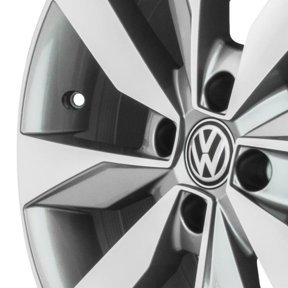 Jogo de Rodas VW Novo Gol G7 2017 Aro 14 4x100 Tala 6 R74 GD