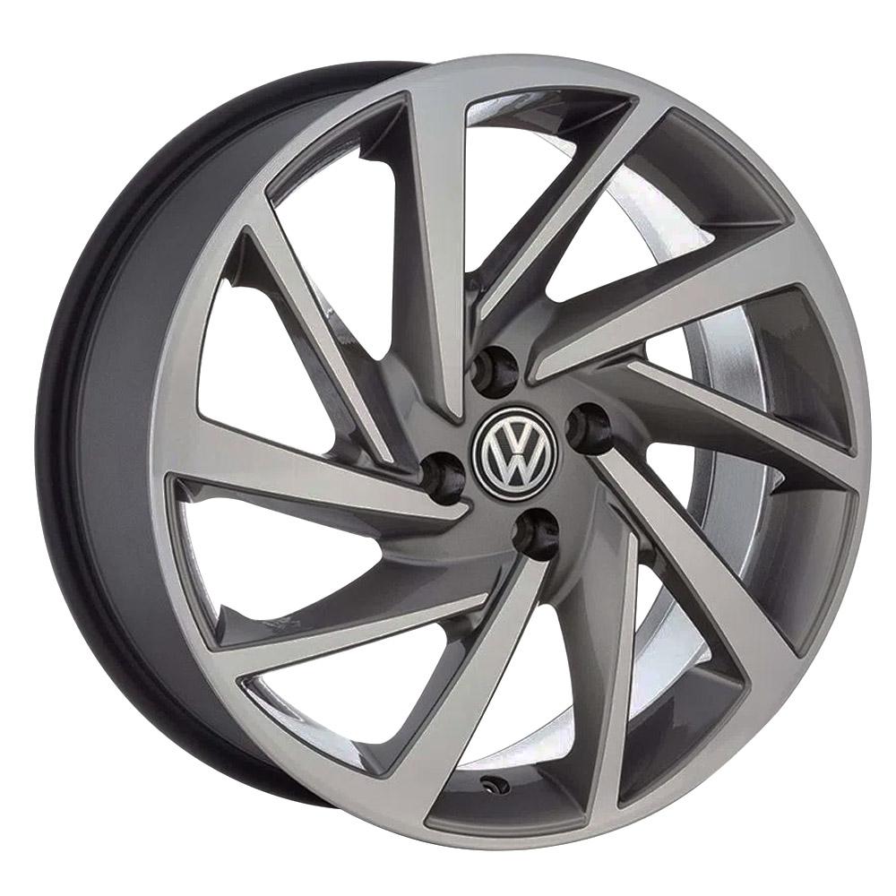 Jogo De Rodas VW Novo Polo Aro 18 4x100 Tala 7 R93 GD
