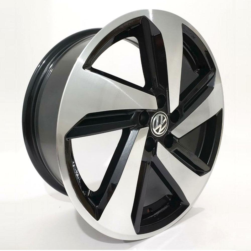 Jogo De Rodas VW Polo GTS Aro 17x7,0 5x112 BRW 1330 BD