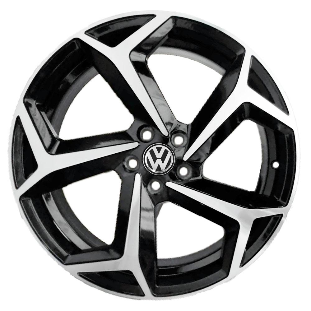 Jogo De Rodas VW Polo R Line 2020 Aro 18 5x105 Tala 7 S23 BD