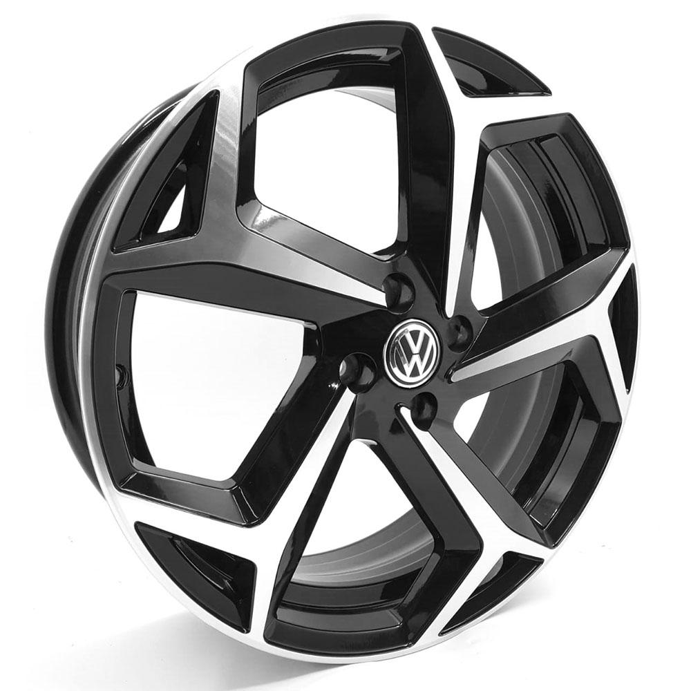 Jogo De Rodas VW Polo R Line Aro 17 4x100 Tala 6 S23 BD