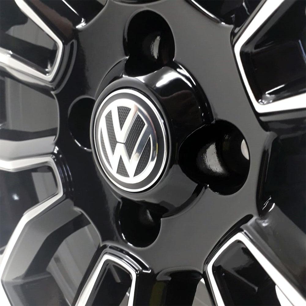 Jogo de Rodas VW Saveiro Cross Aro 15 4x100 Tala 6 R75 BD