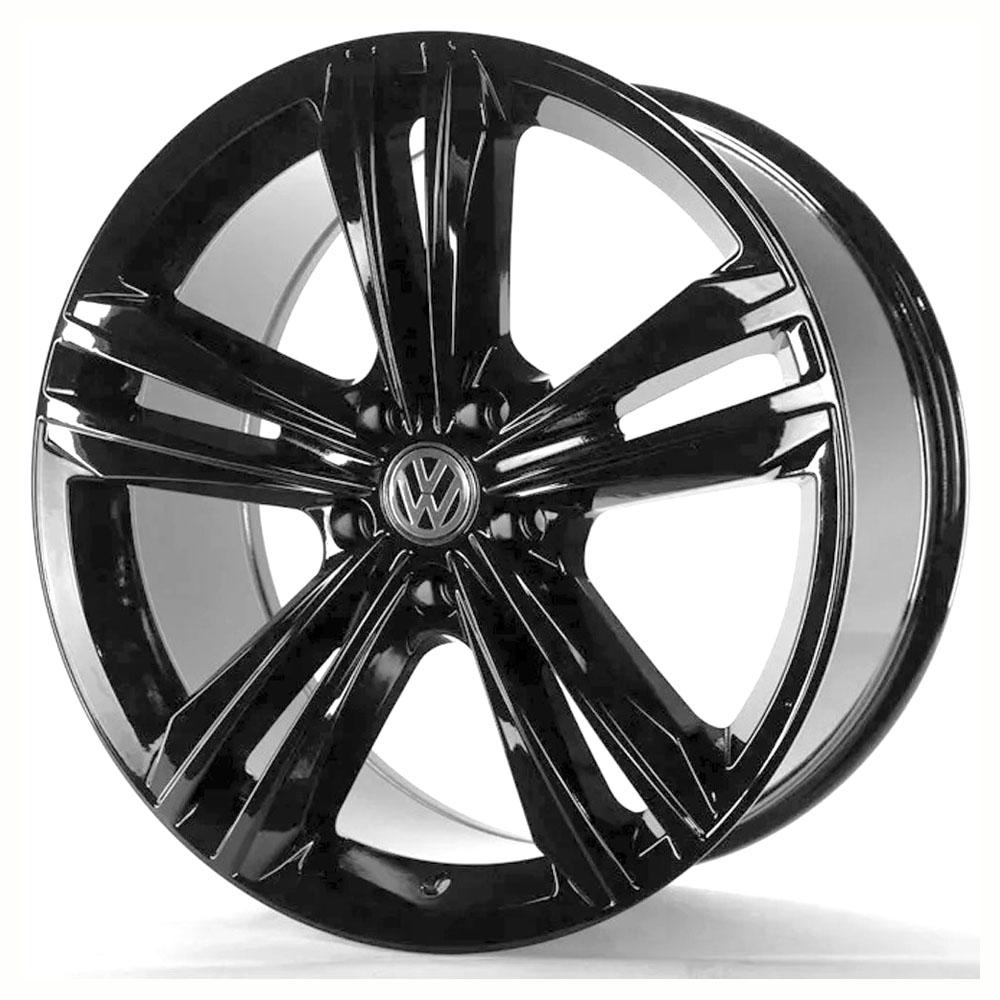 Jogo De Rodas VW Tiguan Aro 18 5x112 Tala 7 S18 Black