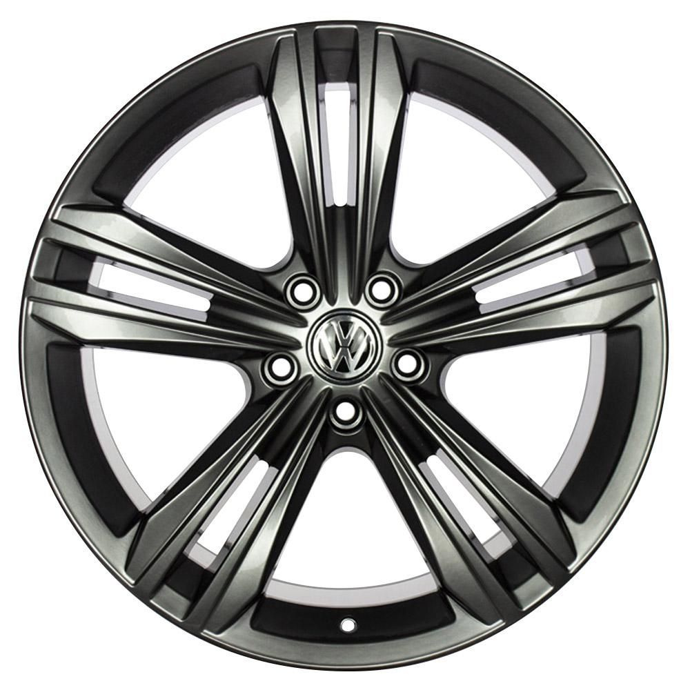 Jogo De Rodas VW Tiguan R-Line Aro 19x8,5 5x112 GT7 Dark Gloss