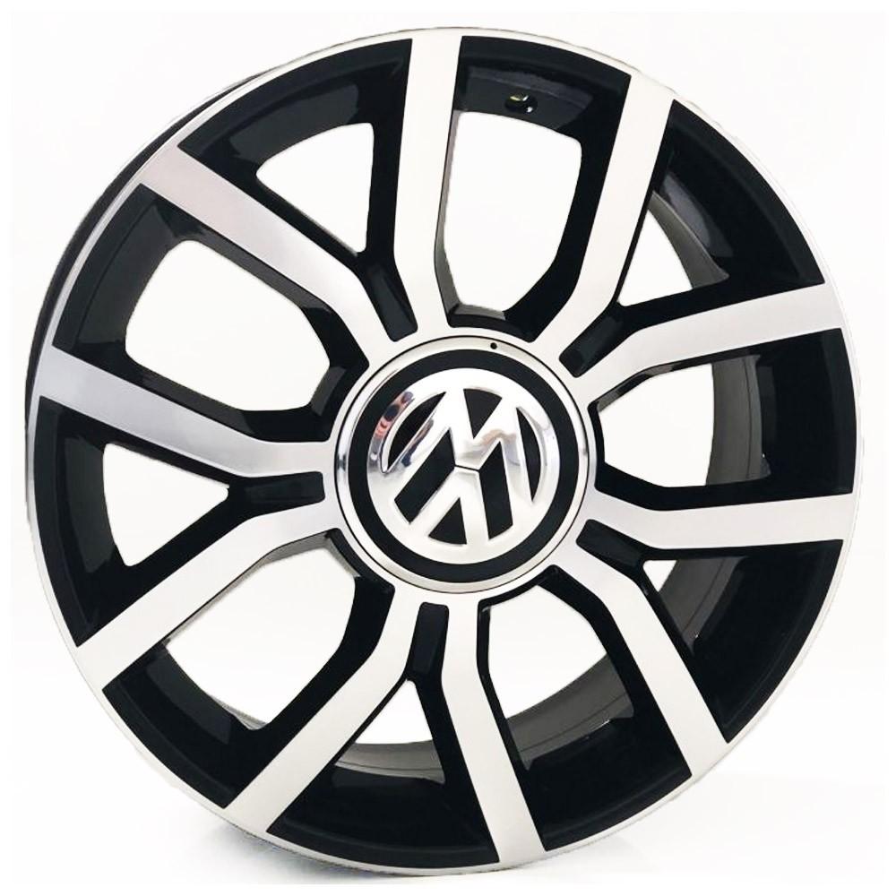 Jogo de Rodas VW UP Aro 17 Tala 7 4x100 KR R50 BD