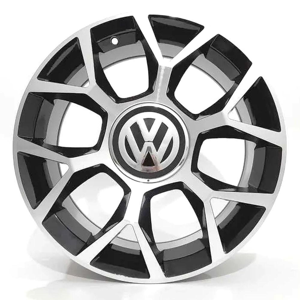 Jogo de Rodas VW UP GTI Aro 17 4x100 BRW 970 BD