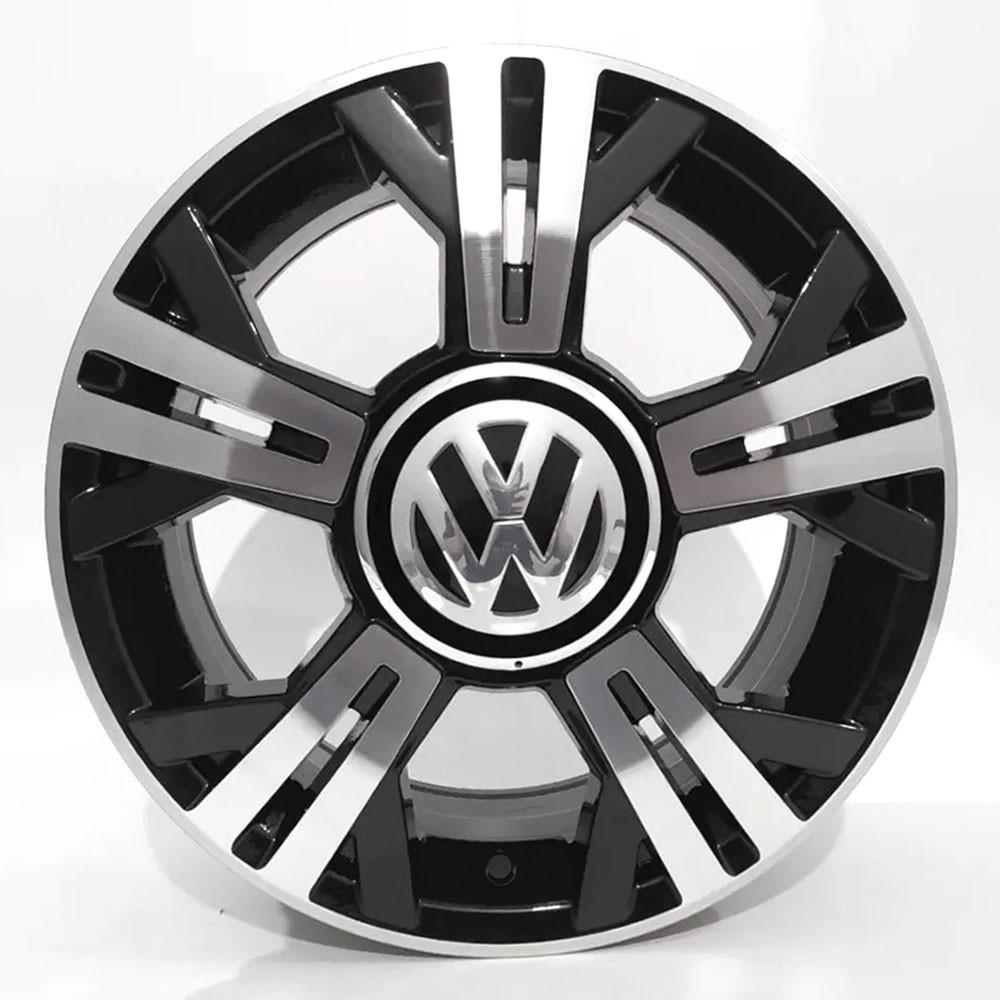 Jogo de Rodas VW UP TSI Aro 15 4x100 BRW 1270 BD