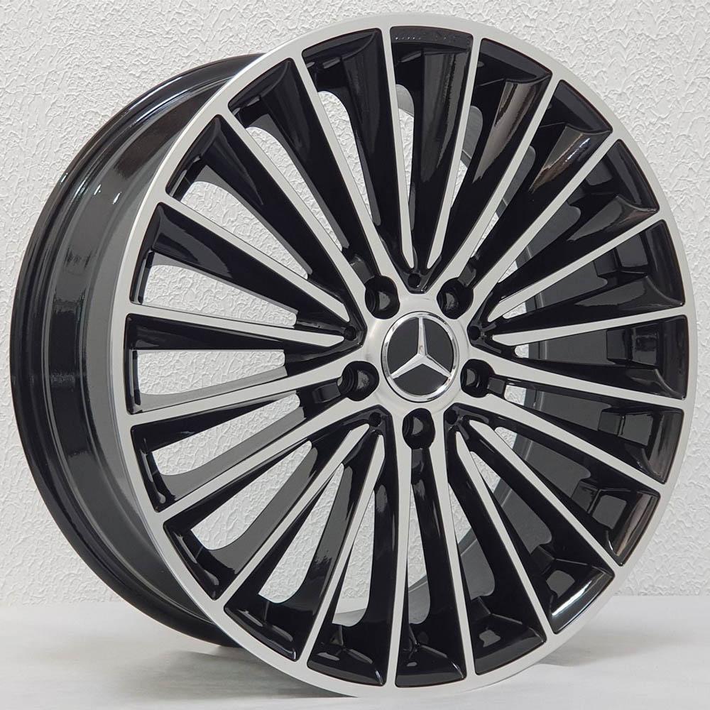 Jogo De Rodas Mercedes C200 Aro 20x8,0 5x112 Zeus ZWMA3 BD