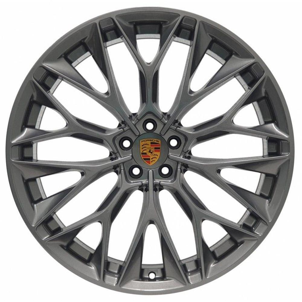 Jogo De Rodas Porsche Aro 22x9,0 5x108 Zeus ZWPCI GB