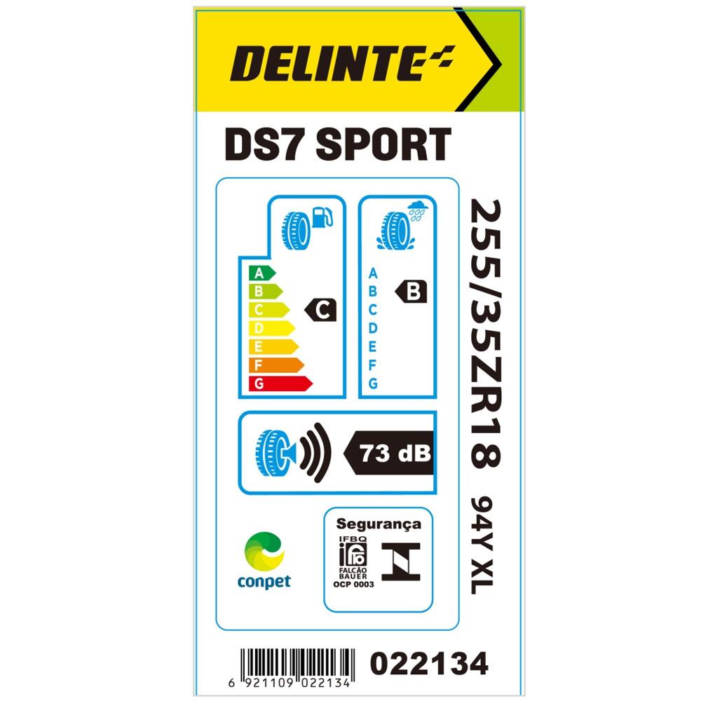 Kit 2 Pneus Delinte Aro 18 255/35 R18 94Y XL DS7 Sport