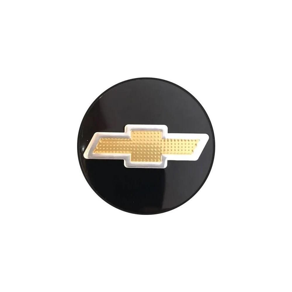 Kit 4 Emblemas Adesivo Resinado Para Calota GM
