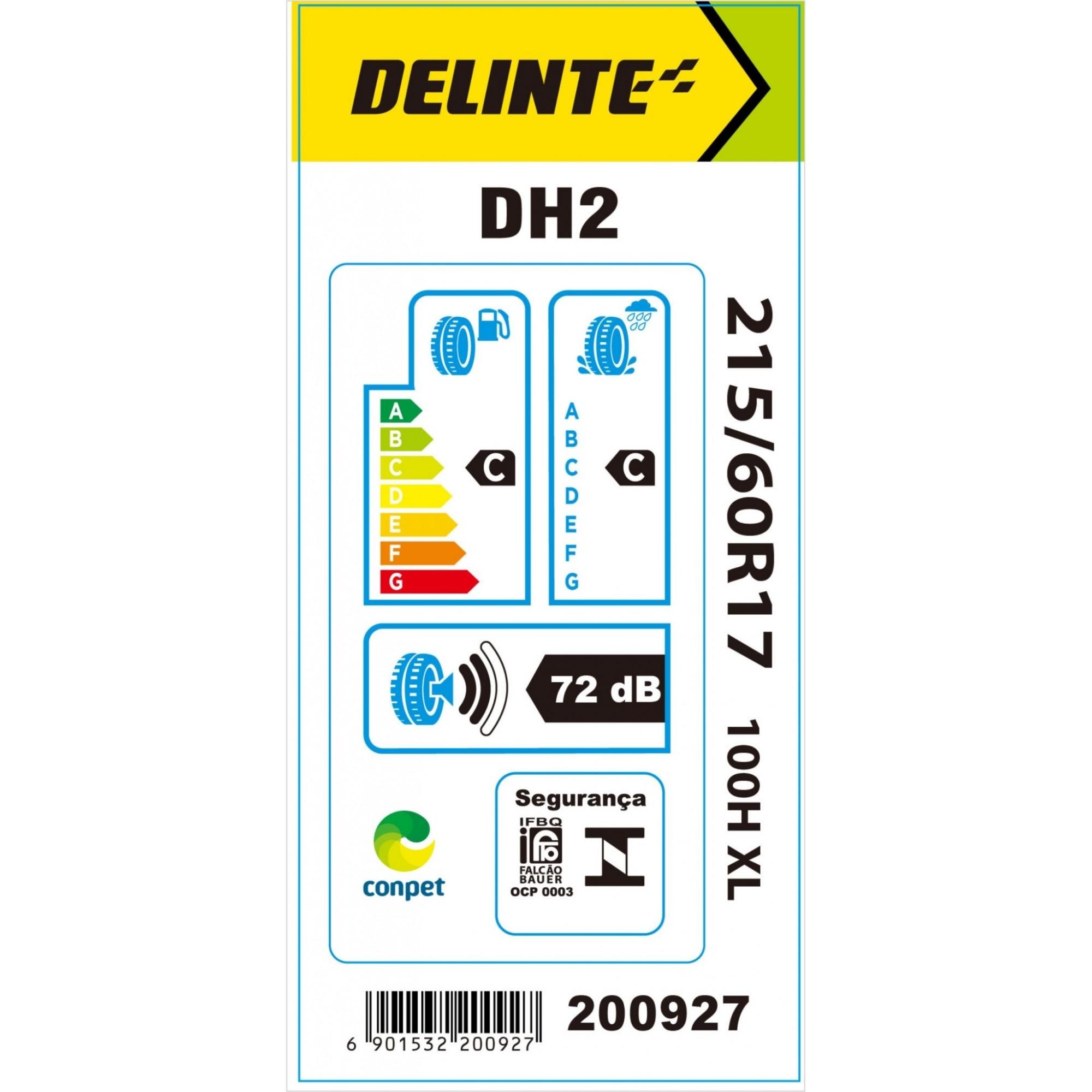 Kit 4 Pneus Delinte Aro 17 215/60 R17 DH2 100H XL