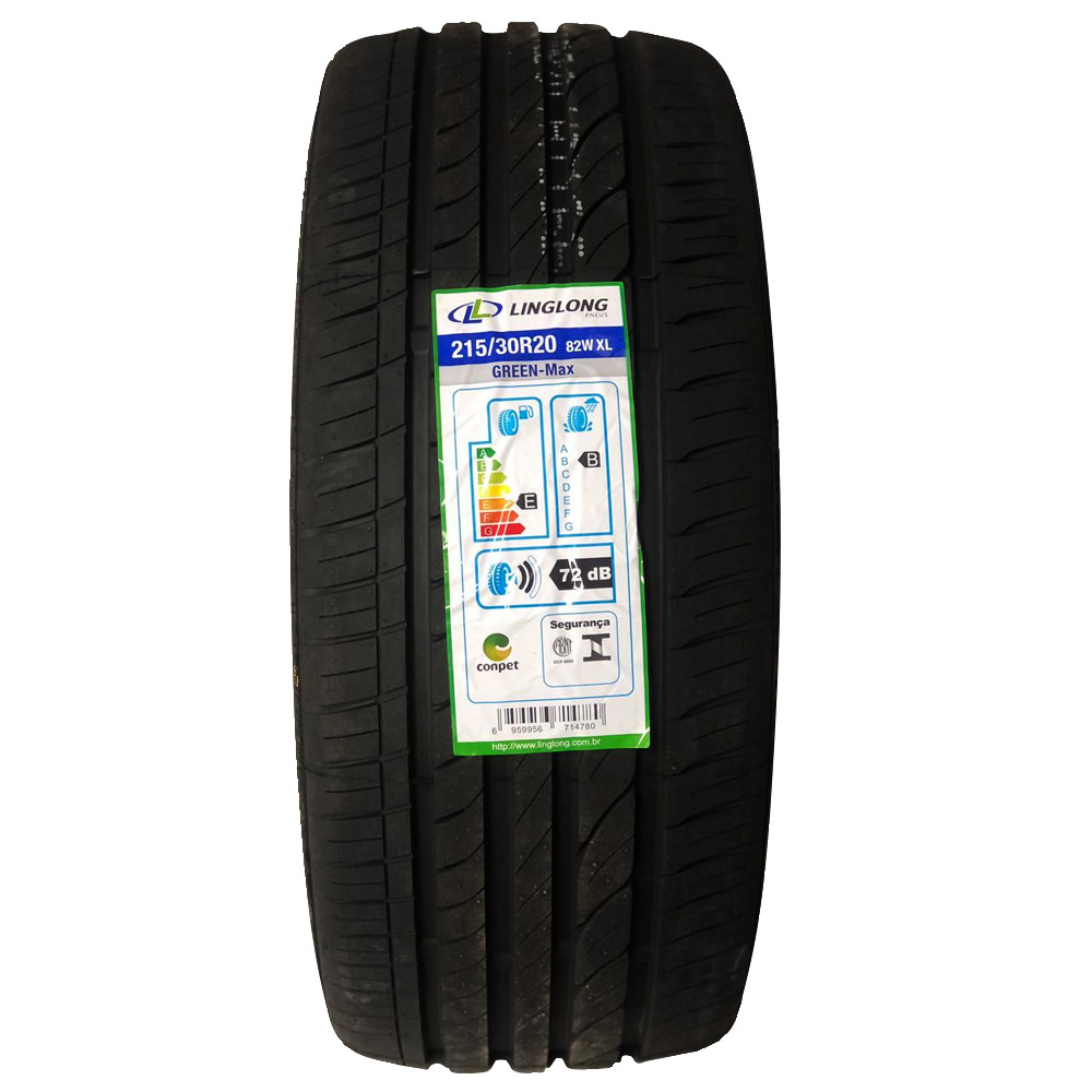 Kit 4 Pneus Linglong Aro 20 215/30 R20 82W Green Max Extra Load
