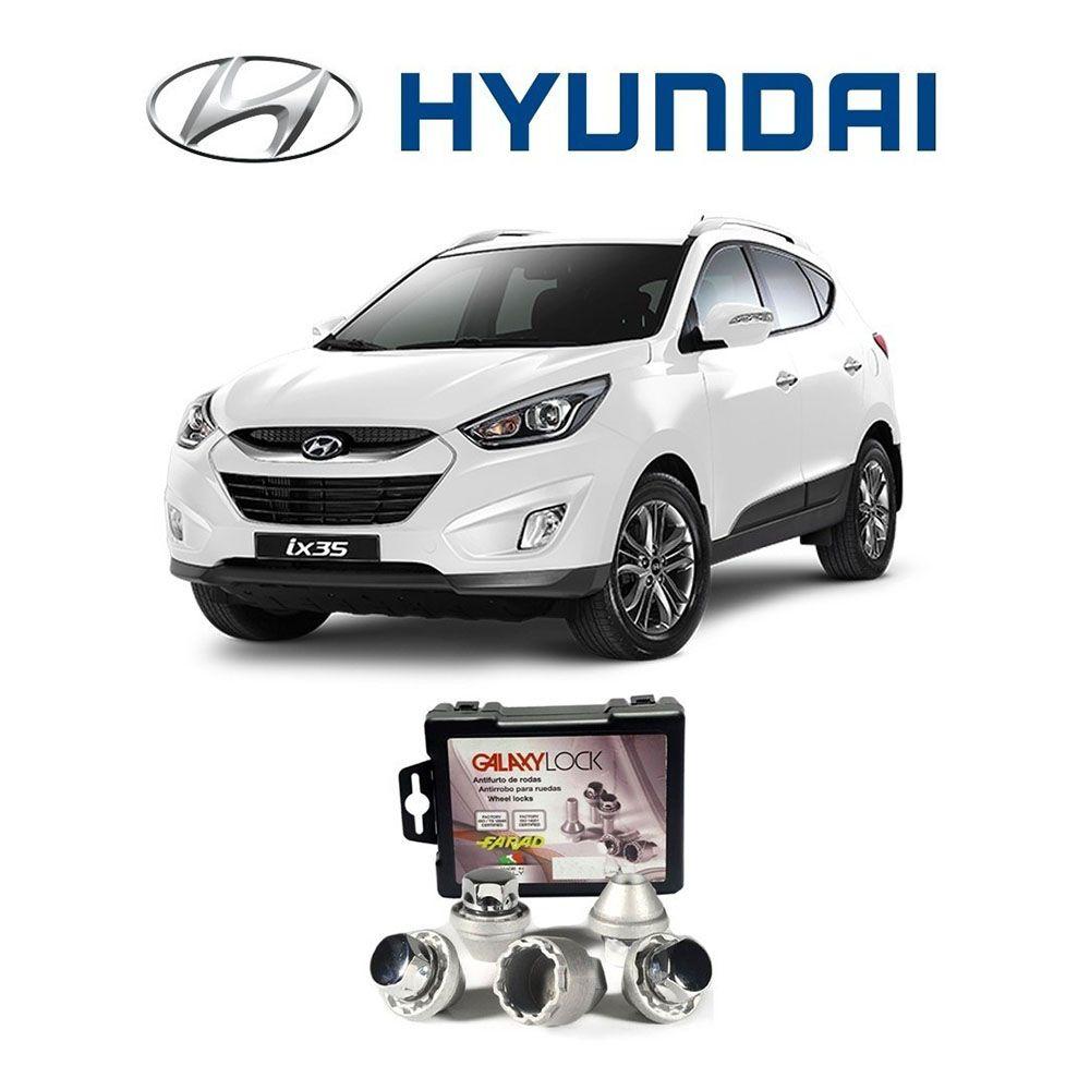 Parafuso Trava Antifurto para Rodas Hyundai
