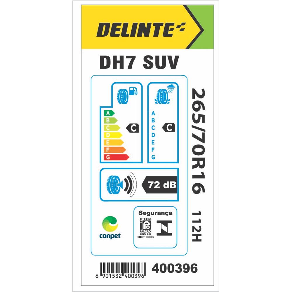 Pneu Delinte Aro 16 265/70 R16 112H DH7 SUV