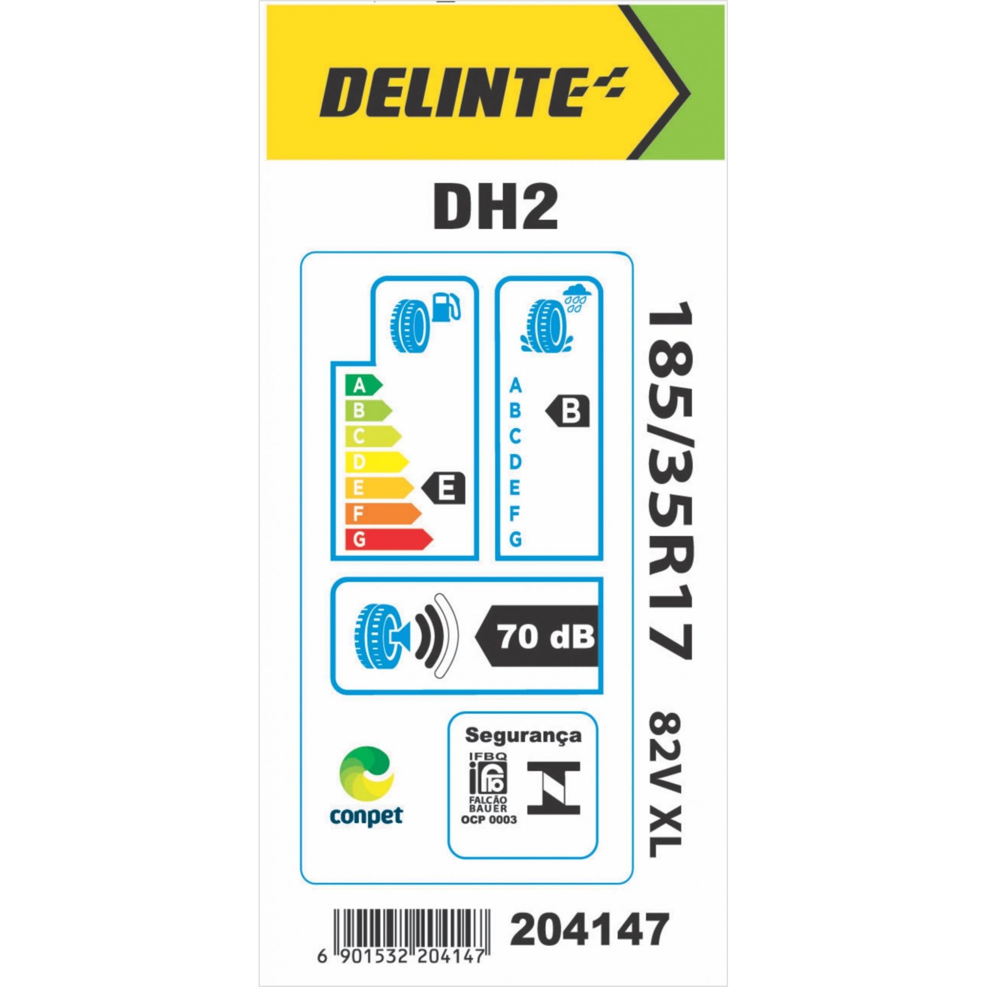 Pneu Delinte Aro 17 185/35 R17 82V XL DH2