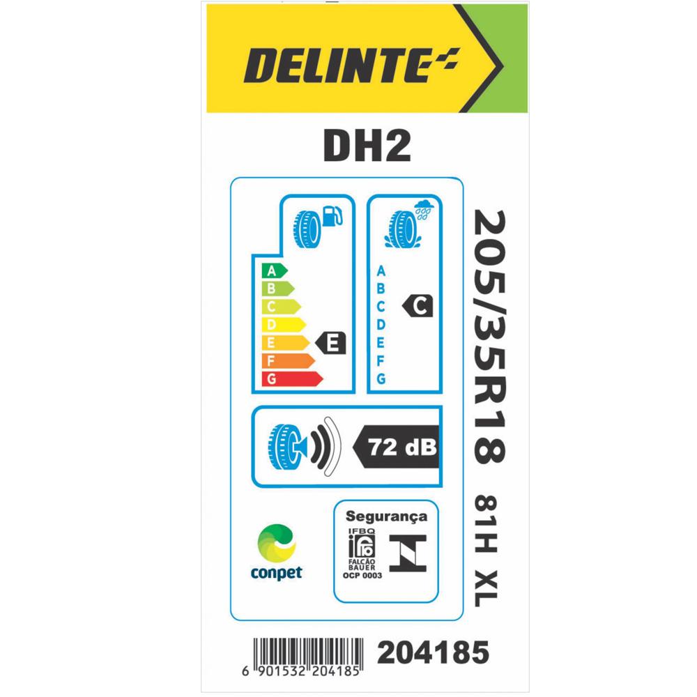 Pneu Delinte Aro 18 205/35 R18 81H XL DH2