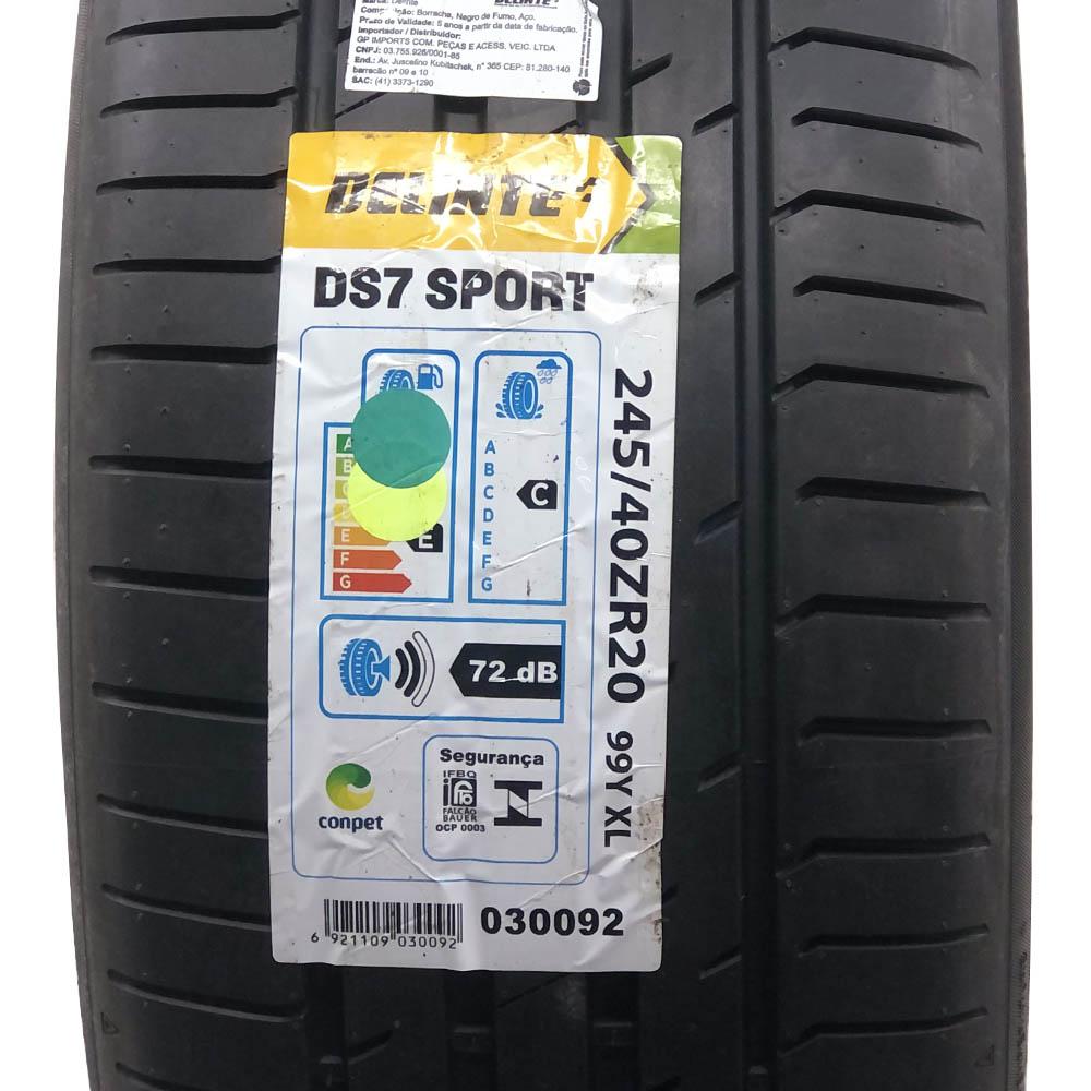 Pneu Delinte Aro 20 245/40 R20 99Y XL DS7 Sport