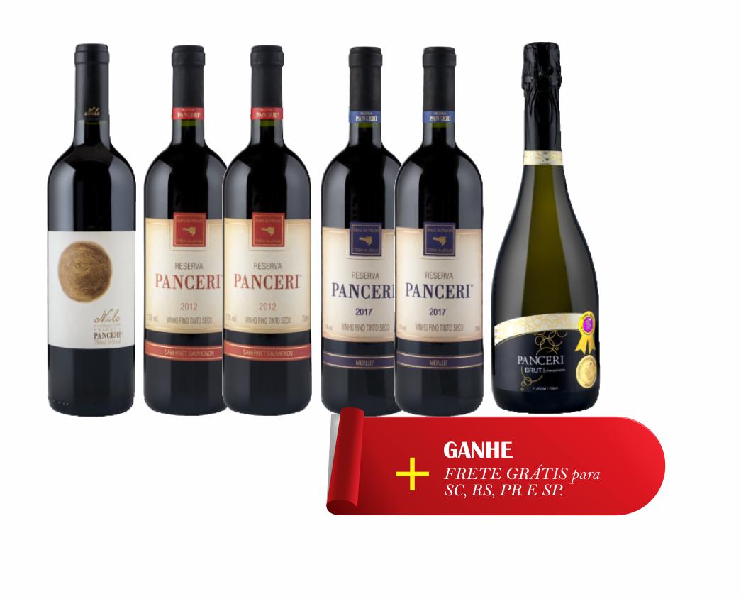 Combo Premium  - Vinhos Panceri