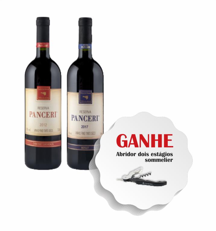 Combo Reservas  - Vinhos Panceri