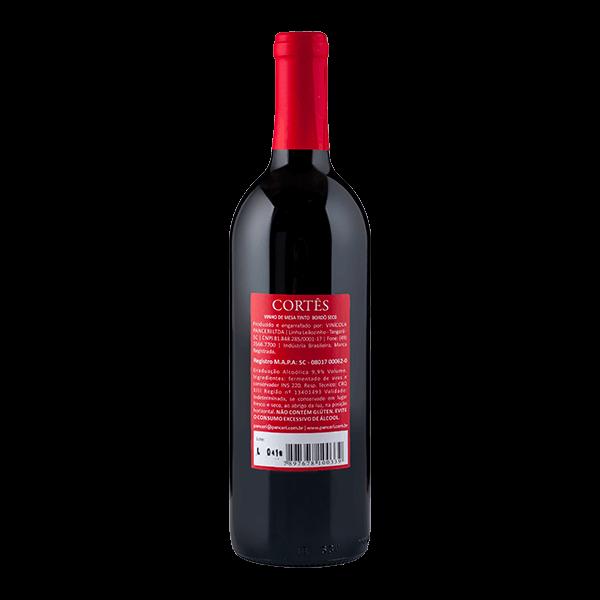 Cortês Bordô Seco   - Vinhos Panceri