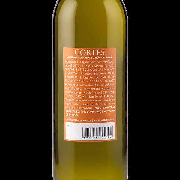 Cortês Branco Suave   - Vinhos Panceri