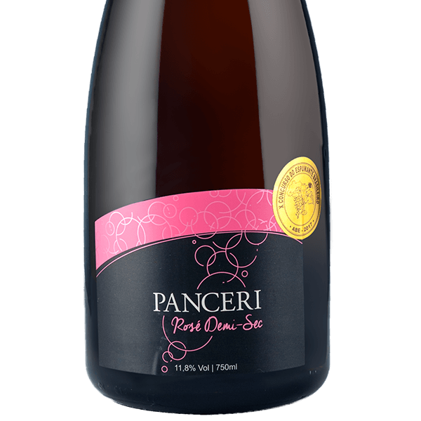 Espumante Rose Démi-sec   - Vinhos Panceri