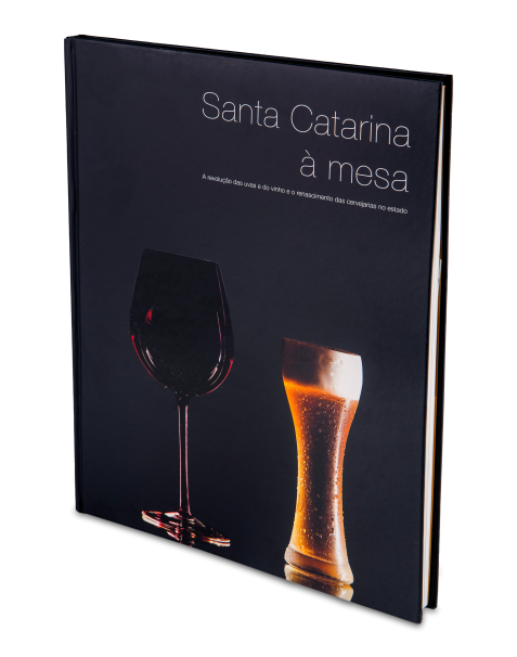 Livro Santa Catarina à Mesa  - Vinhos Panceri