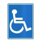 Adesivo Identificação Acessibilidade Cadeirante