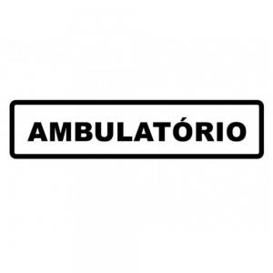 Adesivo Identificação Empresa Ambulatório