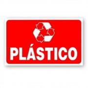Adesivo Identificação Informação Lixo Reciclável Plastico