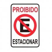 Adesivo Identificação Informação Proibido Estacionar
