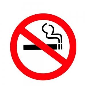 Adesivo Identificação Informação Proibido Fumar