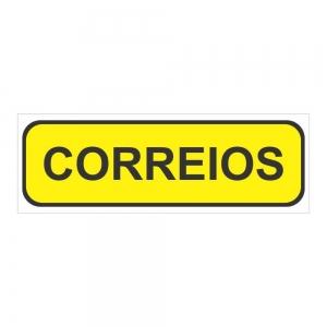 Adesivo Informação Caixa de Correios Condomínio Empresa Casa