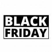 Adesivo Vitrine Black Friday 40x22cm