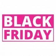 Adesivo Vitrine Black Friday 60x30cm