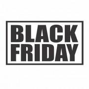 Adesivo Vitrine Black Friday 60x35cm
