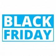 Adesivo Vitrine Black Friday 95x50cm
