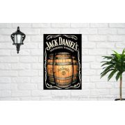 Placa Decorativa Bar Café Jack Daniels