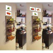 Kit Com 20 Placas Decorativas em MDF Decoração Fruteira
